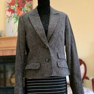 NWOT Guess Gray Tweed Blazer Size XL